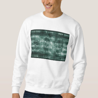 Forex Trading Online and with US Dollar Graph Sweatshirt