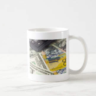 Forex - US and Australian currency pair with calcu Coffee Mug