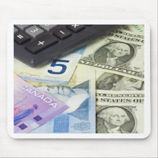 Forex - US and Canadian currency pair Mouse Pad