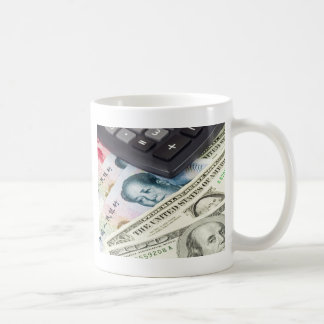 Forex - US and Chinese currency pair with calculat Coffee Mug
