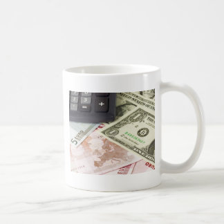 Forex - US and Euro currency pair with calculator Coffee Mug