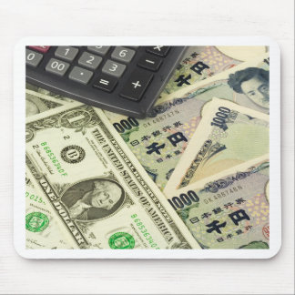 Forex - US and Japanese currency pair Mouse Pad