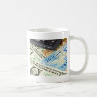 Forex - US and New Zealand currency pair Coffee Mug