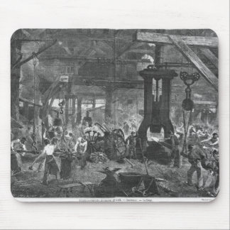 Forge of the Derosne and Cail Company, Mouse Pad