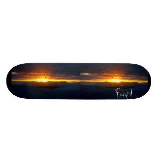 Forged Sunset board. Skate Board