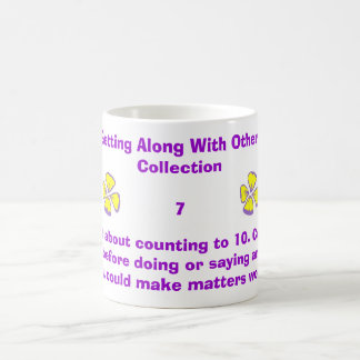 Forget about counting to 10. Count to 1... Classic White Coffee Mug