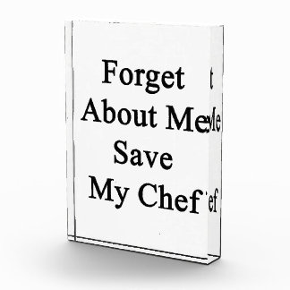 Forget About Me Save My Chef Awards