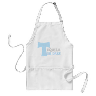 Forget about the truth I want tequila Adult Apron