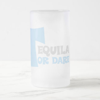 Forget about the truth I want tequila Frosted Glass Beer Mug