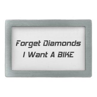 Forget Diamonds I Want A Bike Belt Buckles