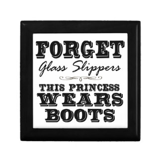 Forget Glass Slippers, This Princess Wears Boots Gift Box