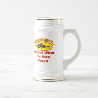 Forget He Was Voted Coffee Mug