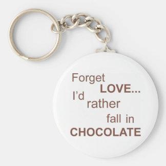 forget-love basic round button keychain