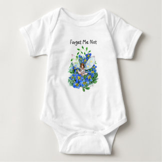 Forget ME emergency Baby Bodysuit