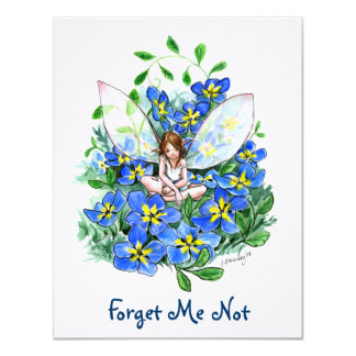 Forget ME emergency Card