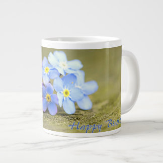 Forget-me Flower Giant Coffee Mug