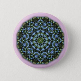 Forget Me Not 001 01, Forgetmenot, Nature Mandala Button