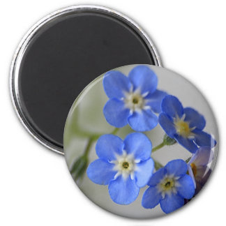 Forget Me Not 2 Inch Round Magnet