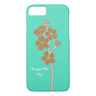 Forget Me Not Alt. iPhone 7, Barely There iPhone 8/7 Case