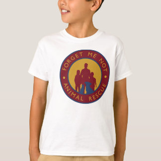 Forget Me Not Animal Rescue Kids Logo T T-Shirt