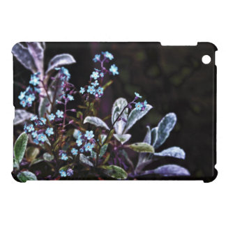 Forget Me Not blue flower iPad Mini Cover