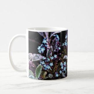 Forget Me Not blue flower Coffee Mug