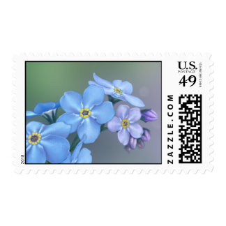 Forget-Me-Not Blue Flower Postage