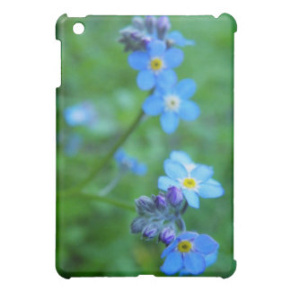 Forget-me-not Blues iPad Mini Cover