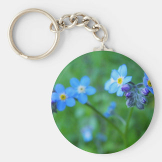 Forget-me-not Blues Keychain