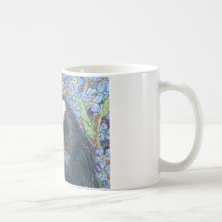 Forget me not Border Collie dog Mugs