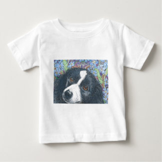 Forget me not Border Collie dog Tee Shirt