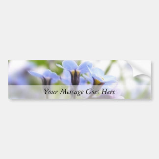 Forget Me Not Buds Bumper Sticker