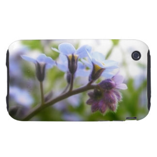 Forget Me Not Buds iPhone 3 Tough Covers