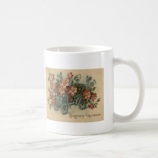 Forget Me Not Car Flowers Coffee Mug