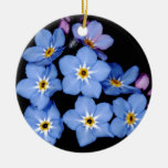 Forget-me-not Ceramic Ornament