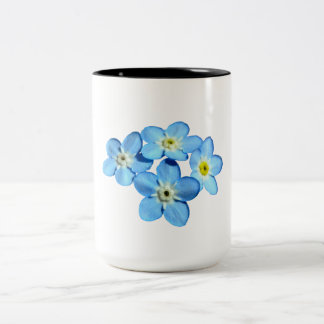 Forget-Me-Not Classic Two Tone Mug