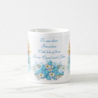 Forget-me-not ~ Classic White Mug