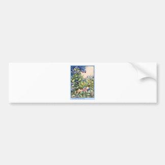 Forget-Me-Not Fairy Car Bumper Sticker