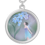 Forget-Me-Not Fairy Necklace