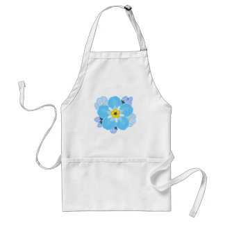 Forget-me-not Flower Aprons