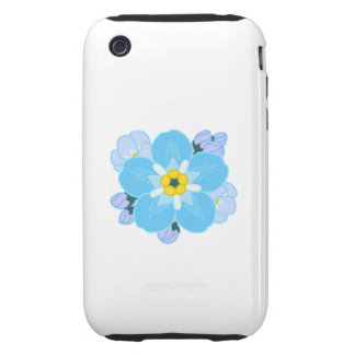 Forget-me-not Flower iPhone 3 Tough Cases