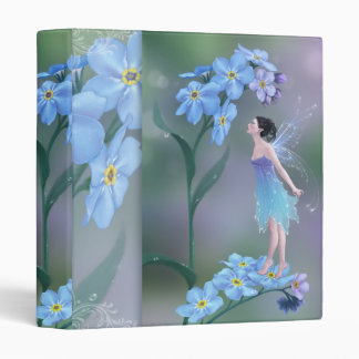 Forget-Me-Not Flower Fairy Binder