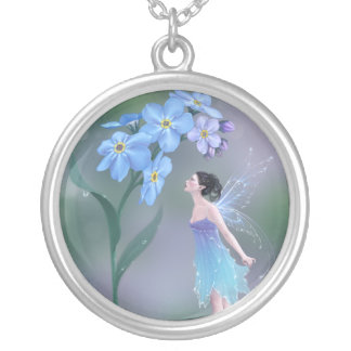 Forget-Me-Not Flower Fairy Necklace