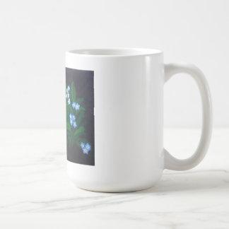 Forget Me Not Flower Mug