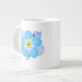 Forget-me-not Flower Jumbo Mugs
