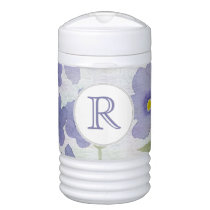 forget-me-not-flowers beverage cooler