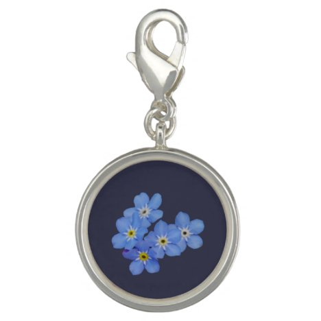 Forget-me-not Flowers Charm