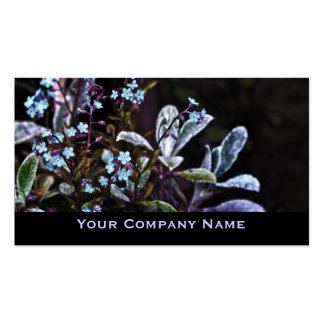 Forget me not flowers Custom Business Cards