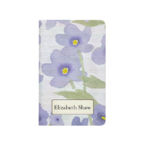 forget-me-not-flowers print journal