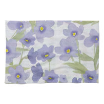 forget-me-not-flowers print kitchen towel